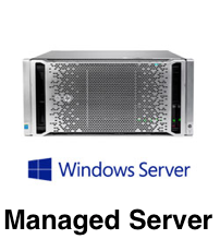managed windows server installation