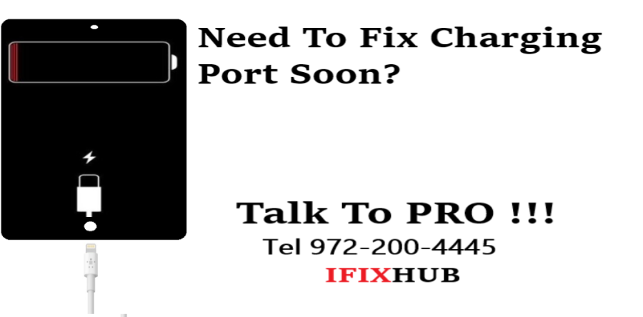 iPad Charging Port Repair Dallas